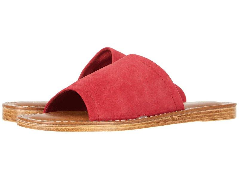 ベラビタ レディース サンダル シューズ Ros-Italy Red Italian Suede