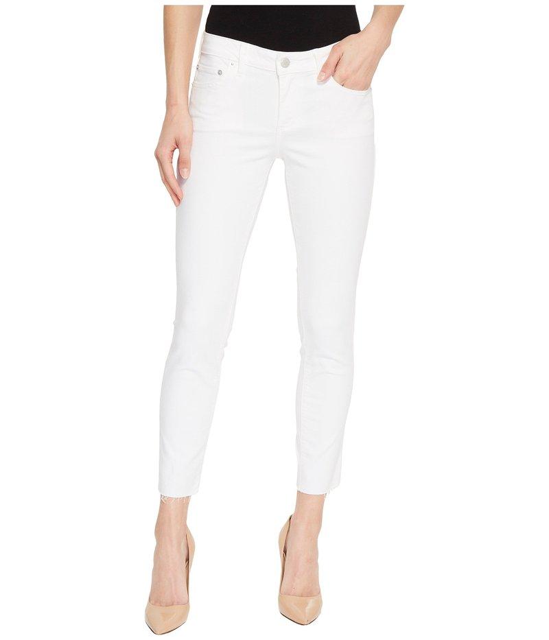ラッキーブランド レディース デニムパンツ ボトムス Lolita Crop Cut Hem Jeans in Clean White Clean White