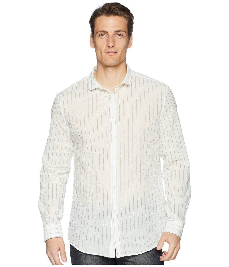 ジョンバルベイトス メンズ シャツ トップス Slim Fit Shirt W523U1 White