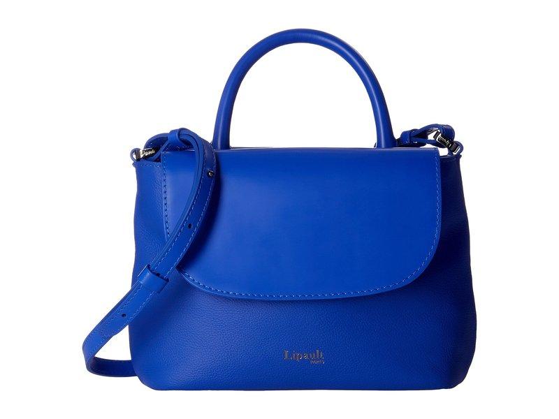 リパルトパリ レディース ハンドバッグ バッグ Plume Elegance Leather Mini Handle Bag Exotic Blue