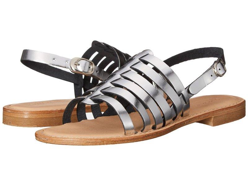 ホワイトマウンテン レディース サンダル シューズ Elanna Silver Metallic Leather