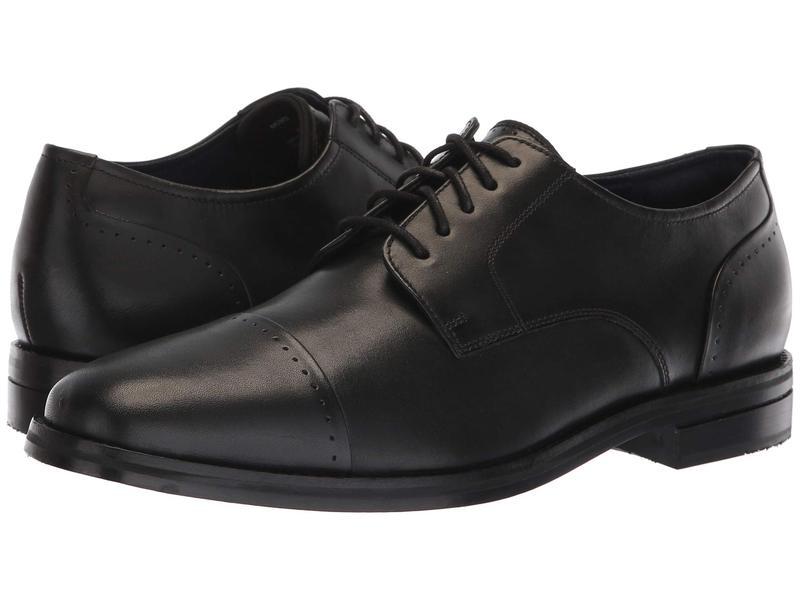 コールハーン メンズ オックスフォード シューズ Giraldo Grand 2.0 Cap Toe Oxford Black