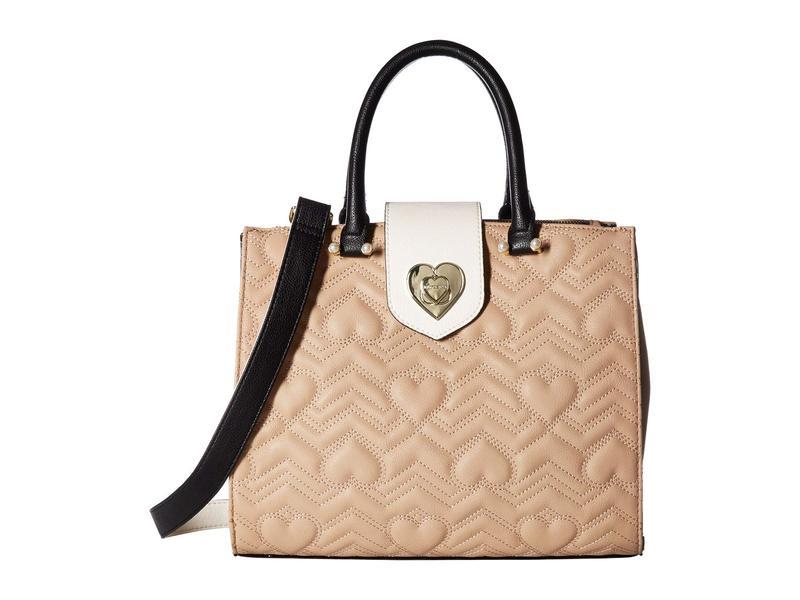 ベッツィジョンソン レディース ハンドバッグ バッグ Bag in Bag Satchel Brown Multi