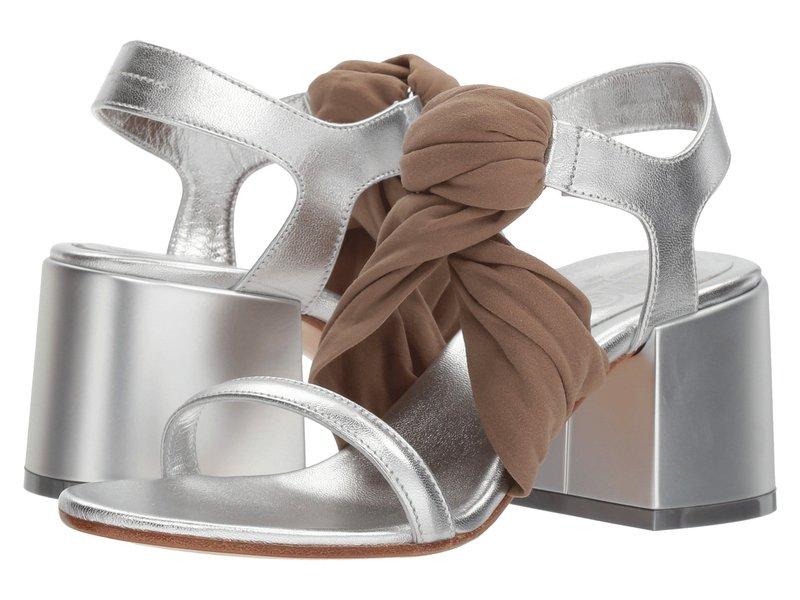 マルタンマルジェラ レディース ヒール シューズ Stocking Twist Sandal Silver/Amber