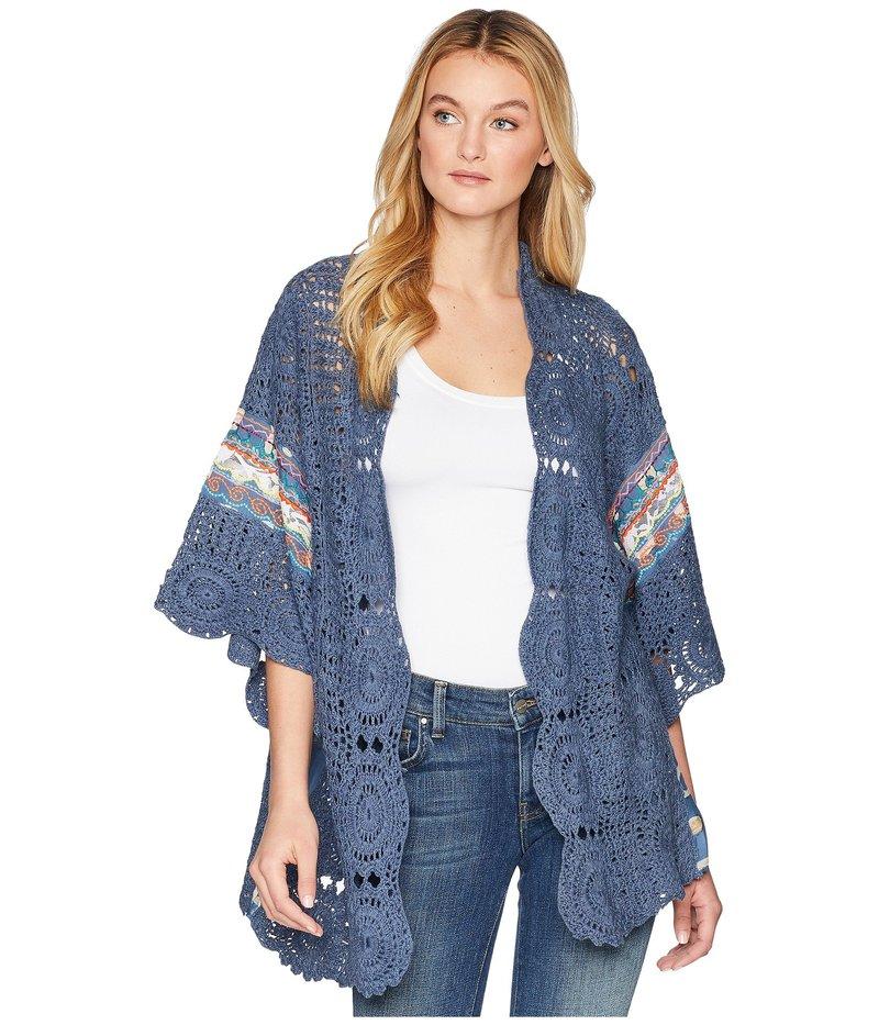 フリーピープル レディース シャツ トップス Holi Crochet Kimono Multi