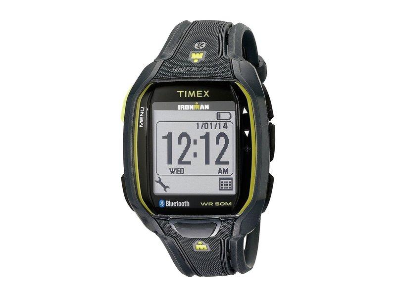 タイメックス メンズ 腕時計 アクセサリー Ironman Run X50+ Watch Charcoal/Green