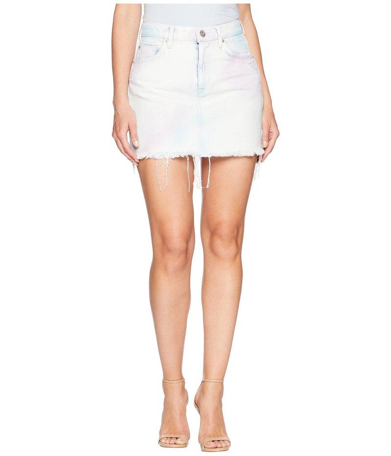 ハドソン レディース スカート ボトムス The Viper Mini Skirt in Not That Innocent Not That Innocent