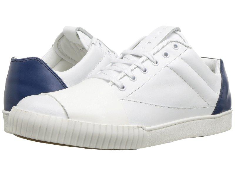 マルニ メンズ スニーカー シューズ Color Block Sneaker White/Cobalt