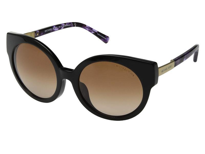 マイケルコース レディース サングラス・アイウェア アクセサリー 0MK2019F Black Purple Tort/Gold Frame