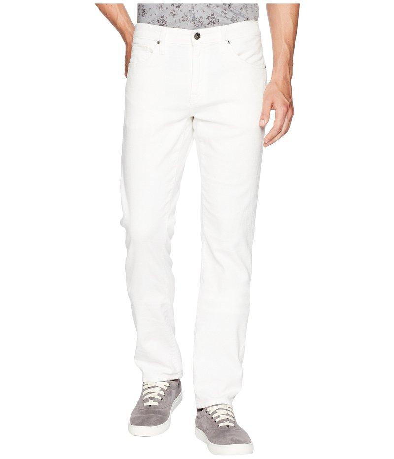 アガーヴィデニム メンズ デニムパンツ ボトムス Tweed River Rinse Rocker Fit Jeans in White White