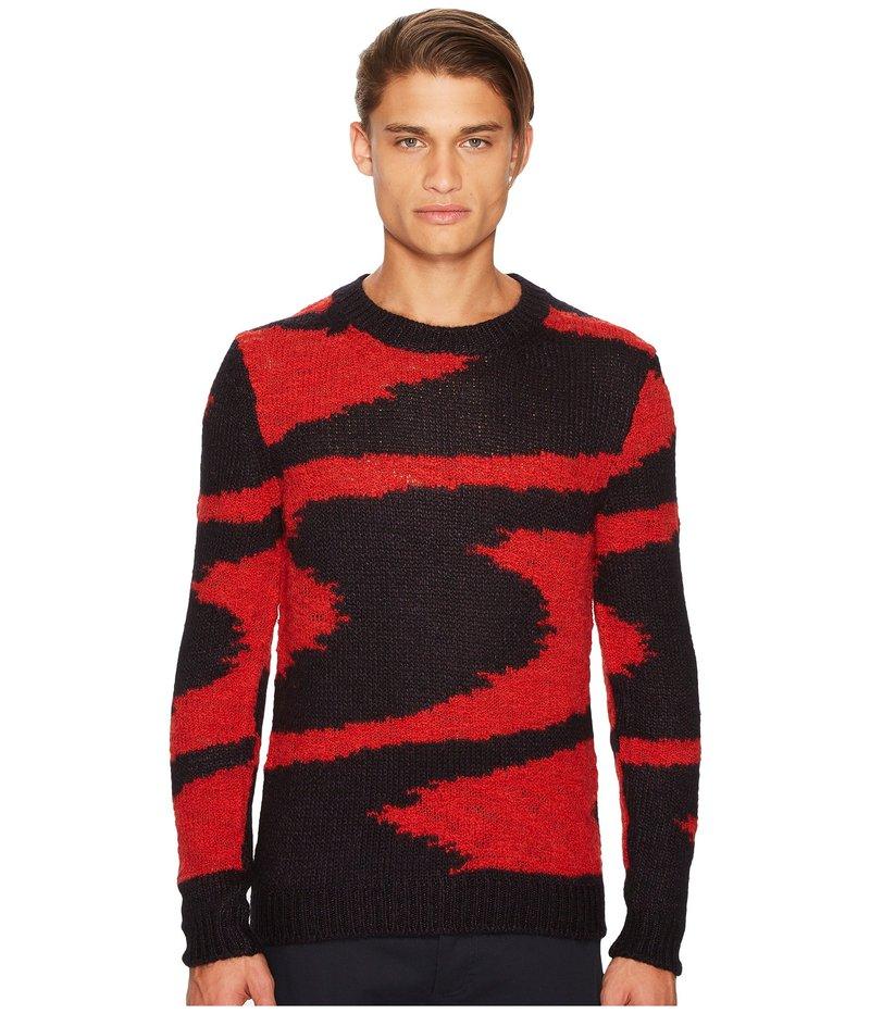 ミッソーニ メンズ ニット・セーター アウター Space Dye Intarsia Sweater Blue/Red