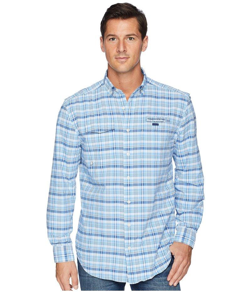 ヴァインヤードヴァインズ メンズ シャツ トップス Prospect Hill Plaid Harbor Shirt Ocean Breeze