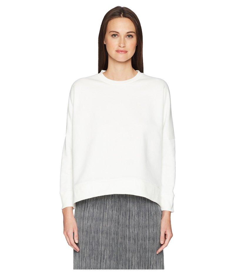 ニールバレット レディース パーカー・スウェット アウター Asymmetric Sweatshirt Off-White