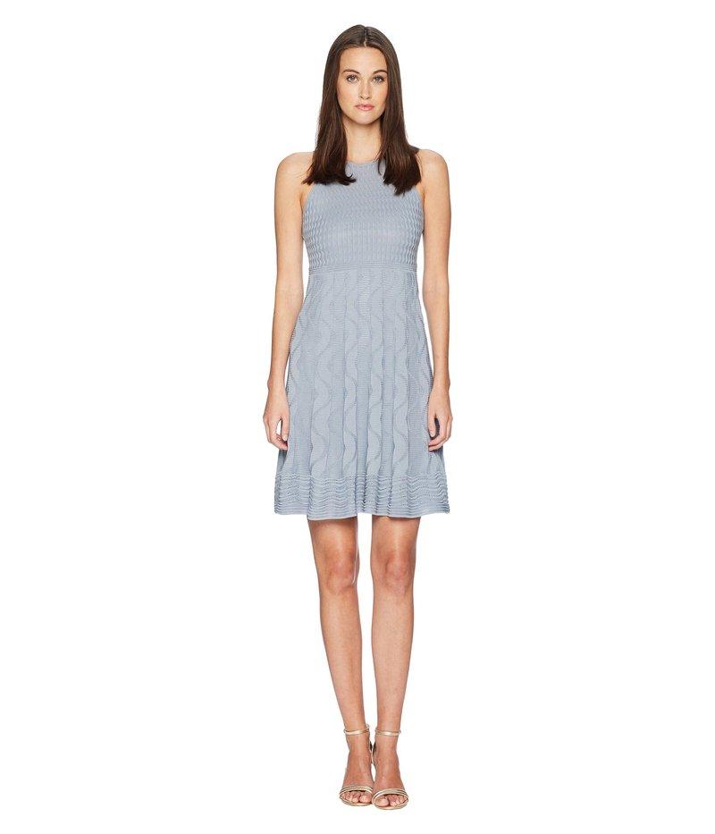 エム ミッソーニ レディース ワンピース トップス Solid Knit Dress Gray