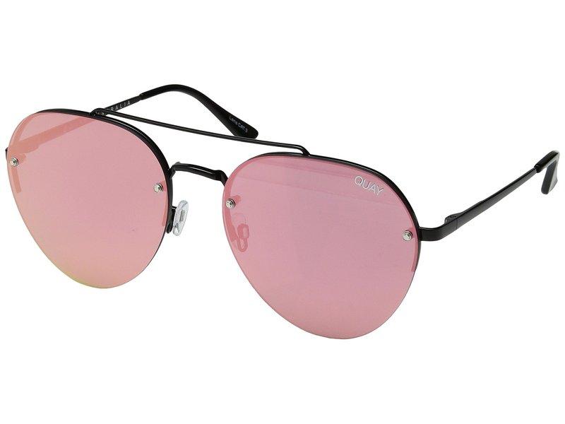 クアイオーストラリア レディース サングラス・アイウェア アクセサリー Somerset Black/Pink