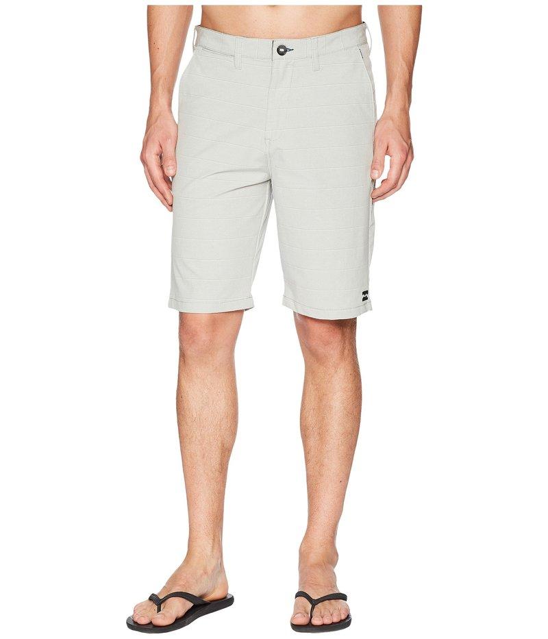 ビラボン メンズ ハーフパンツ・ショーツ ボトムス Crossfire X Stripe Shorts Silver