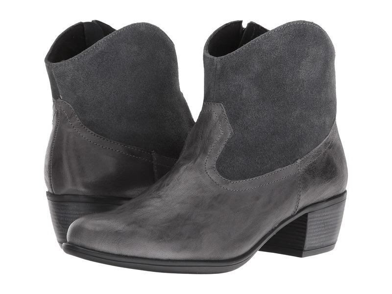ムンロー レディース ブーツ・レインブーツ シューズ Laramie Grey Leather/Suede
