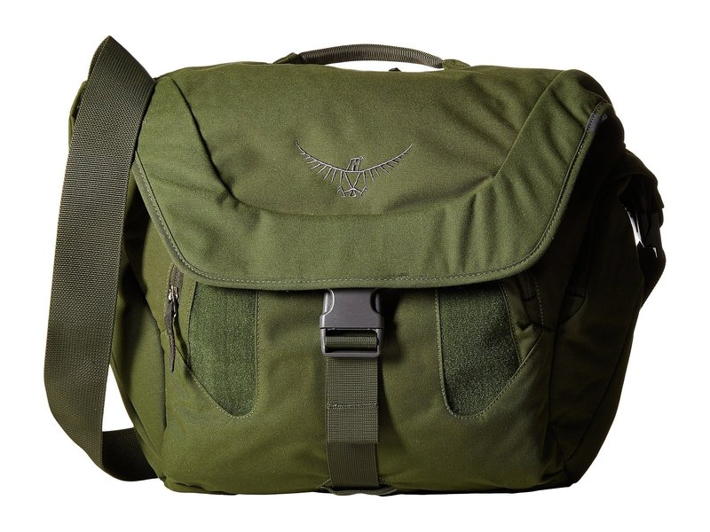 オスプレー メンズ ショルダーバッグ バッグ FlapJack Courier Peat Green