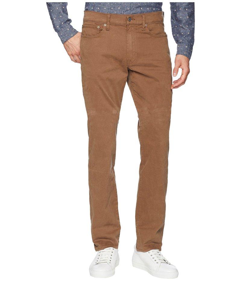 ラッキーブランド メンズ デニムパンツ ボトムス 121 Heritage Slim Jeans in Bark Bark