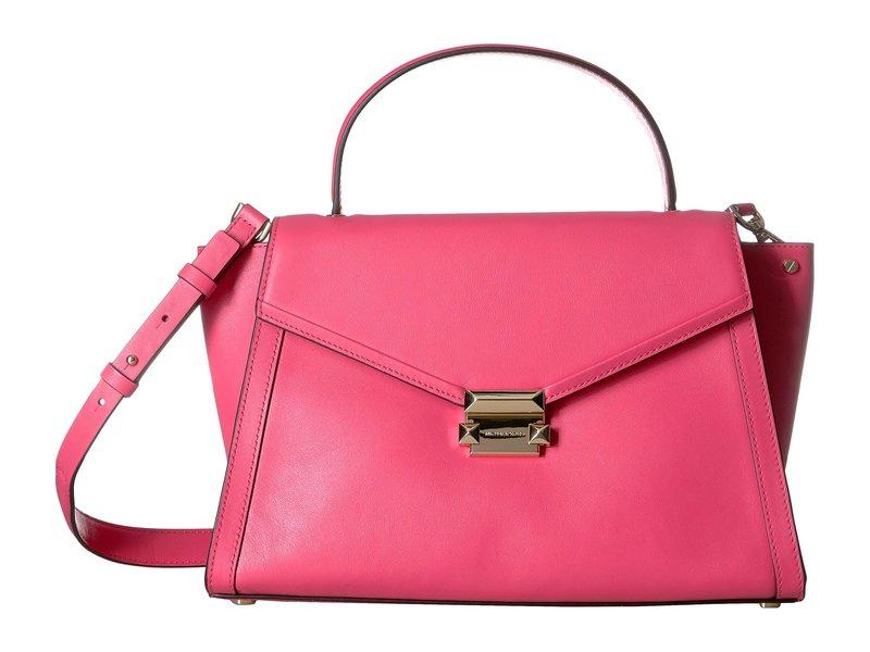 マイケルコース レディース ハンドバッグ バッグ Whitney Large Top-Handle Satchel Rose Pink
