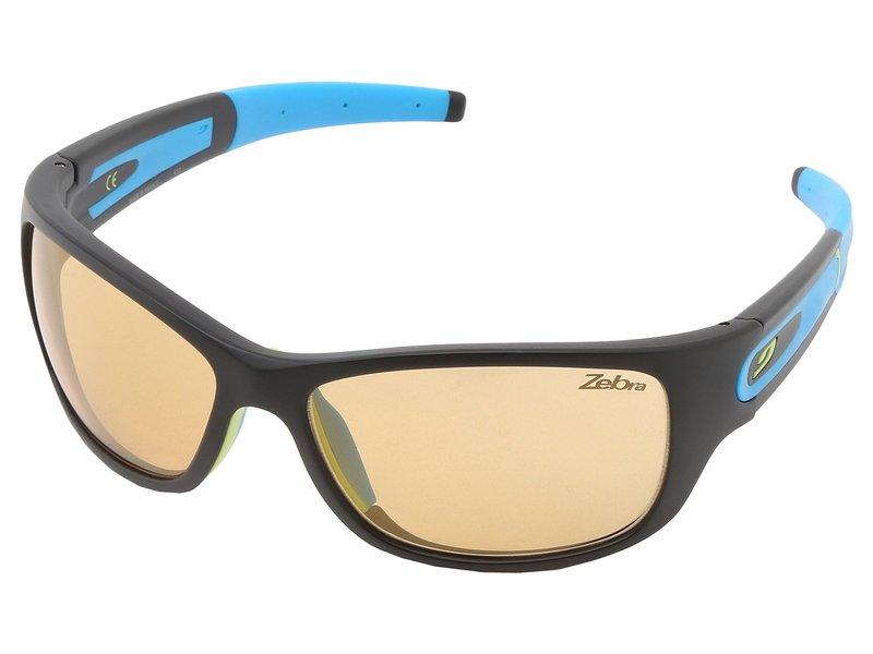 ジュルボアイウェア メンズ サングラス・アイウェア アクセサリー Stony Sunglasses - Zebra Lenses Black With Zebra Photochromic Lens