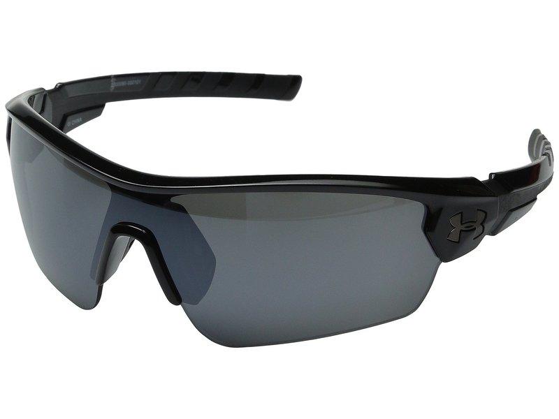 アンダーアーマー メンズ サングラス・アイウェア アクセサリー UA Rival Shiny Black/Charcoal Frame/Gray/Multiflection Lens