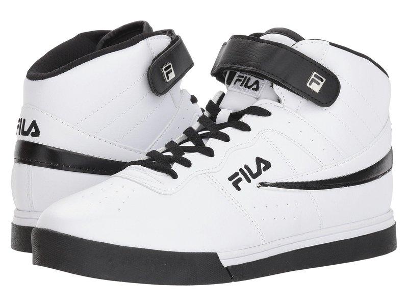 フィラ メンズ スニーカー シューズ Vulc 13 Mid Plus White/Black