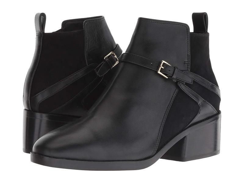 コールハーン レディース ブーツ・レインブーツ シューズ Etta Bootie Black Leather