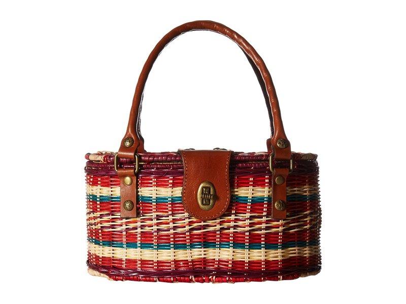 パトリシアナシュ レディース ハンドバッグ バッグ Majadas Basket Bag Multi Stripe