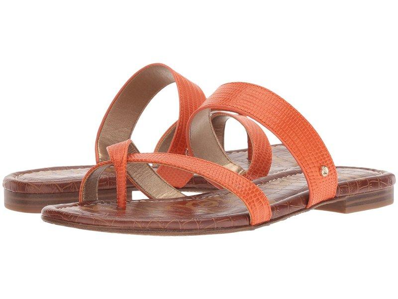 サムエデルマン レディース サンダル シューズ Bernice Tangelo Vaquero Saddle Leather