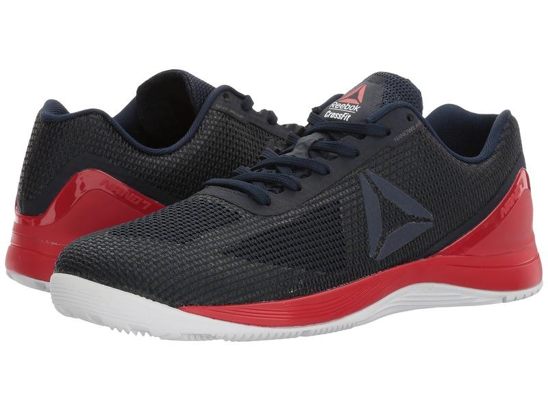 リーボック メンズ スニーカー シューズ Crossfit Nano 7.0 Collegiate Navy/Primal Red/White/Black
