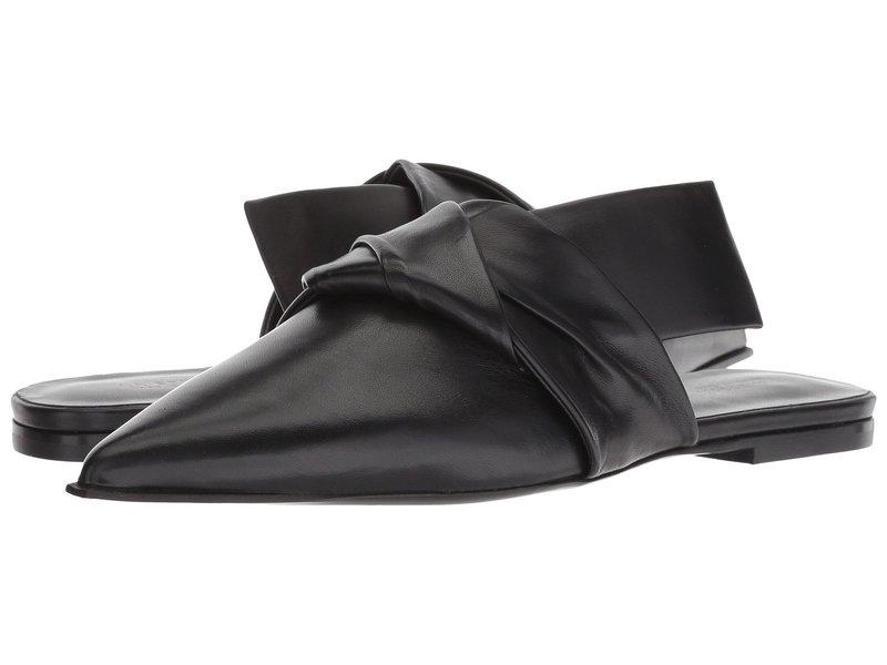 ヴィアスピガ レディース サンダル シューズ Birgit Black Leather