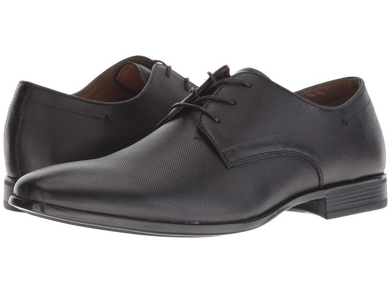 アルド メンズ オックスフォード シューズ Haboub Black Leather
