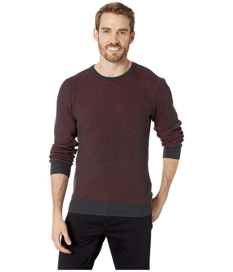 アガーヴィデニム メンズ ニット・セーター アウター Kestrel Long Sleeve Crew Neck Sweater Charcoal