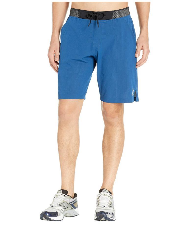 リーボック メンズ ハーフパンツ・ショーツ ボトムス Epic Knit Waistband Shorts Bunker Blue