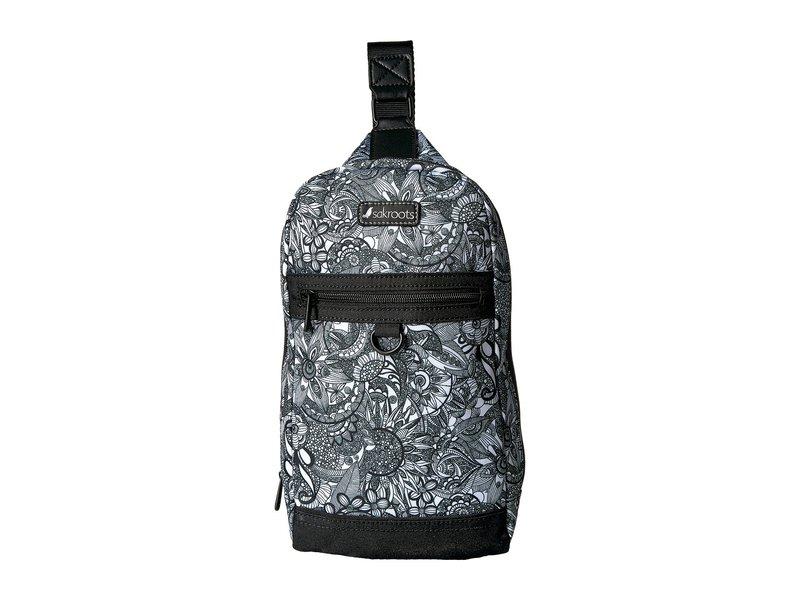 サックルーツ レディース バックパック・リュックサック バッグ New Adventure Hiker Sling Backpack Black/White Spirit Desert
