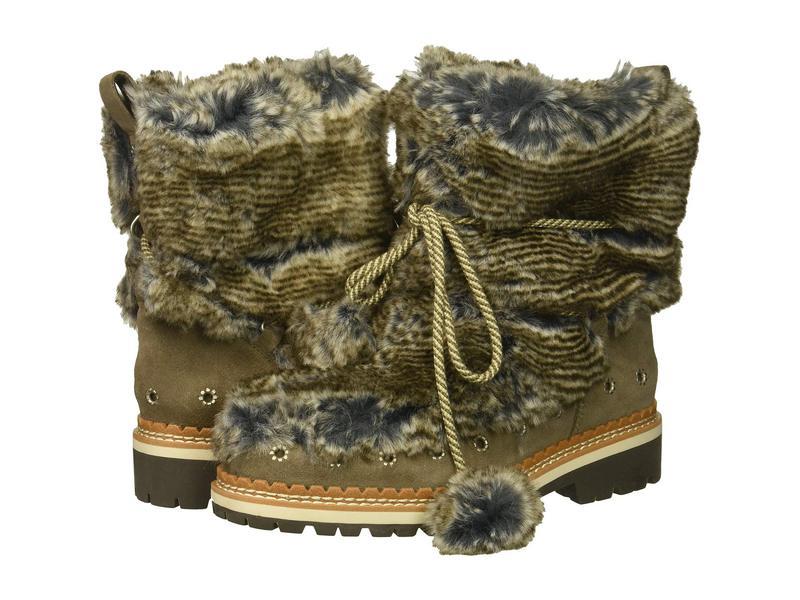 サムエデルマン レディース ブーツ・レインブーツ シューズ Blanche Grey Multi/Flint Grey Alpine Fur/Velutto Suede Leather