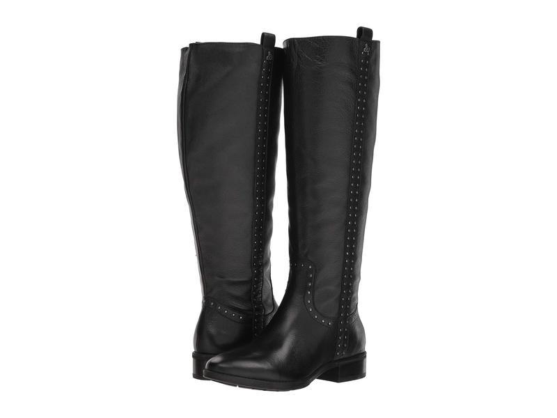 サムエデルマン レディース ブーツ・レインブーツ シューズ Prina Wide Calf Leather Tall Boot Black Neymar Leather