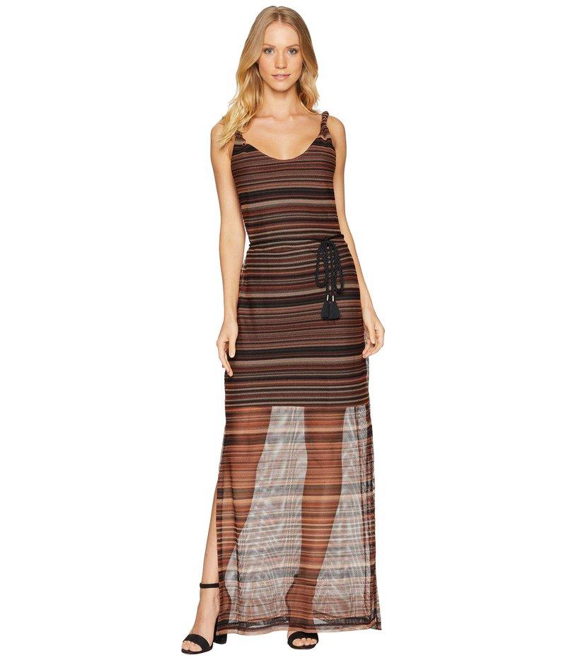 サンクチュアリー レディース ワンピース トップス Horizon Maxi Dress Horizon Stripe