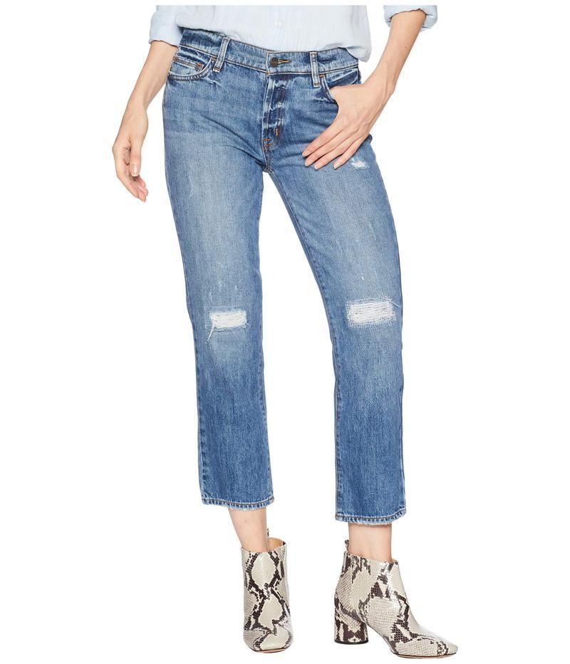 サンクチュアリー レディース デニムパンツ ボトムス Disrupt Rip & Repair Boy Jeans in Flat Iron Rigid Flat Iron Rigid