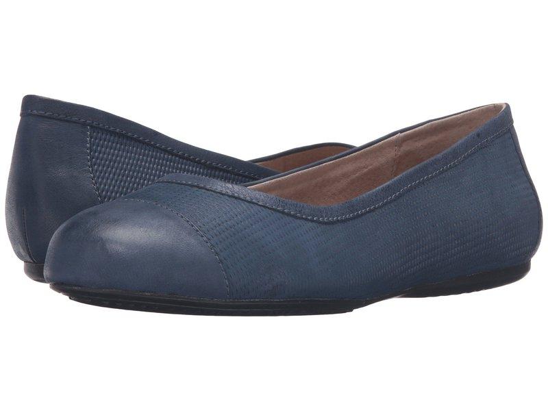 ソフトウォーク レディース サンダル シューズ Napa Navy Nubuck Embossed Leather/Leather