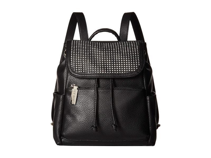 スティーブ マデン レディース バックパック・リュックサック バッグ Btran-Rhinestone Backpack Black