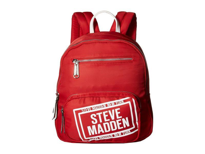 スティーブ マデン レディース バックパック・リュックサック バッグ Bfraye Backpack Red