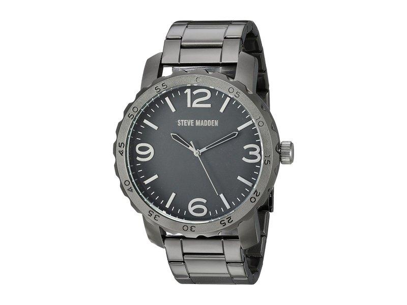 スティーブ マデン メンズ 腕時計 アクセサリー SMW129 Black/Black