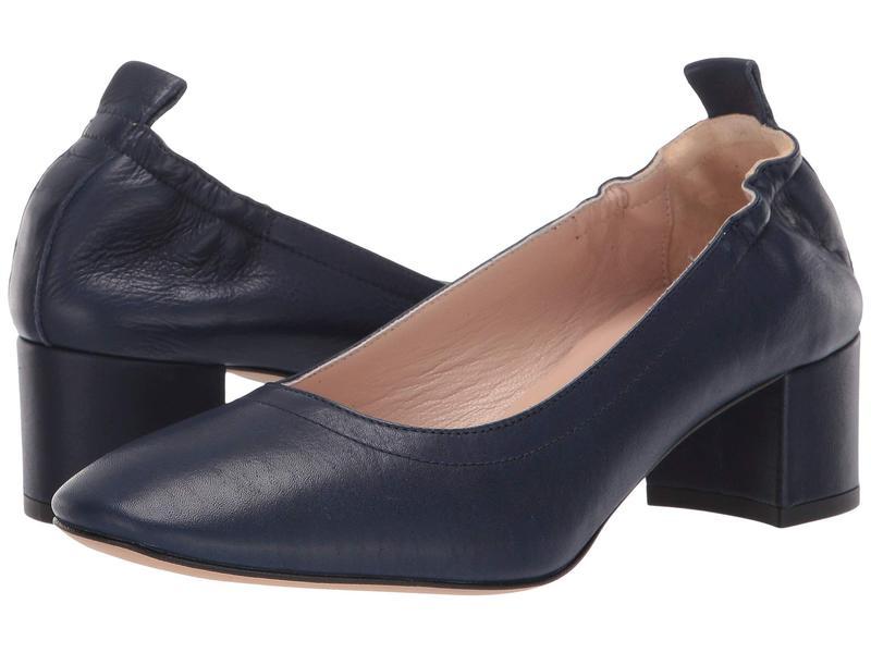 ホワイトマウンテン レディース ヒール シューズ Vittoria Heel Navy Leather