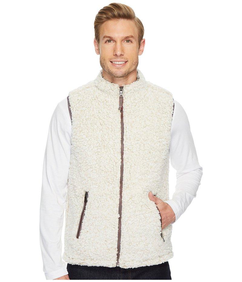 トゥルーグリット メンズ コート アウター Frosty Tipped Pile Double Up Vest Oatmeal