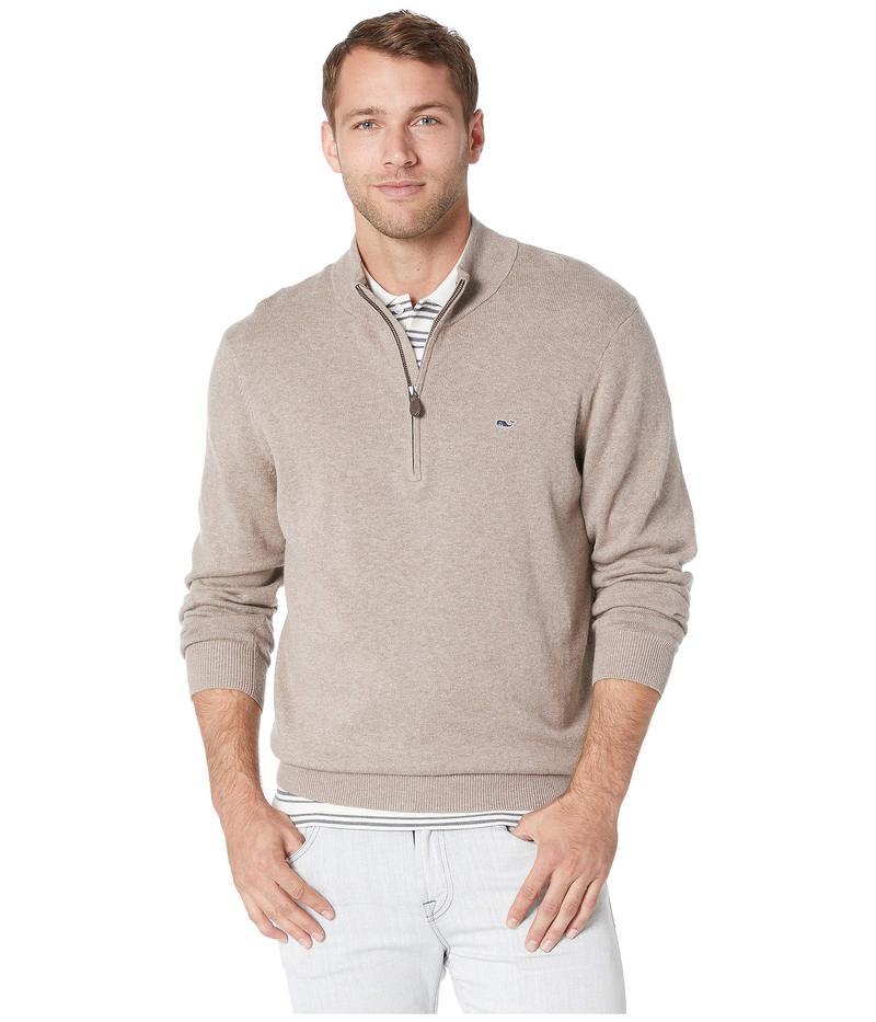 ヴァインヤードヴァインズ メンズ ニット・セーター アウター Palm Beach 1/4 Zip Sweater Harvest Tan