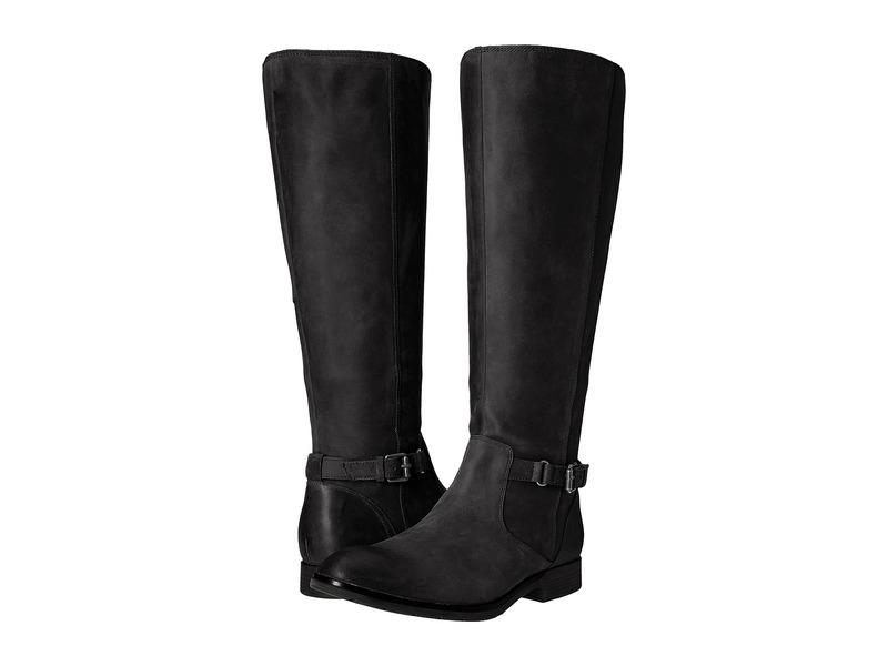 セバゴ レディース ブーツ・レインブーツ シューズ Nashoba High Boot Waterproof Black Leather