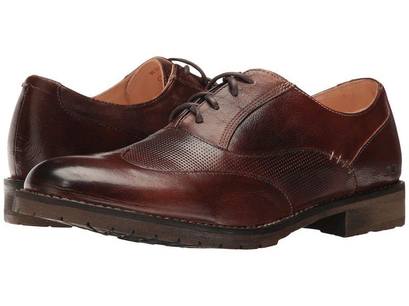 ベッドステュ メンズ オックスフォード シューズ Gibson Teak Rustic Leather