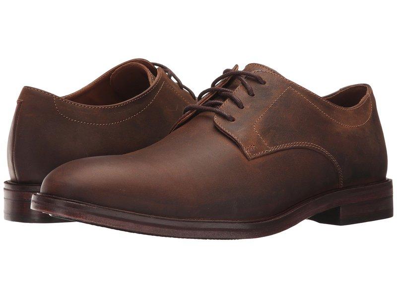 ボストニアン メンズ オックスフォード シューズ Mckewen Plain Brown Leather